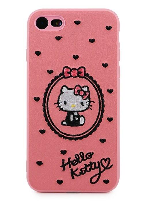 Чехол для iPhone 7/8 Kitty (Розовый)