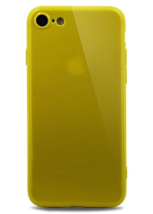 Чехол для iPhone 7/8 Slim (Желтый)