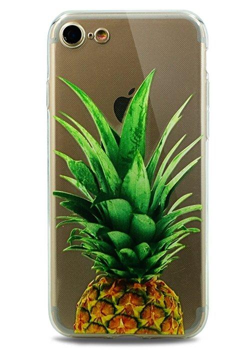 Чехол для iPhone 7/8 Spring picture силикон (Ананас)
