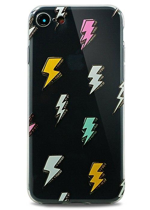 Чехол для iPhone 7/8 Spring picture силикон (Молния)