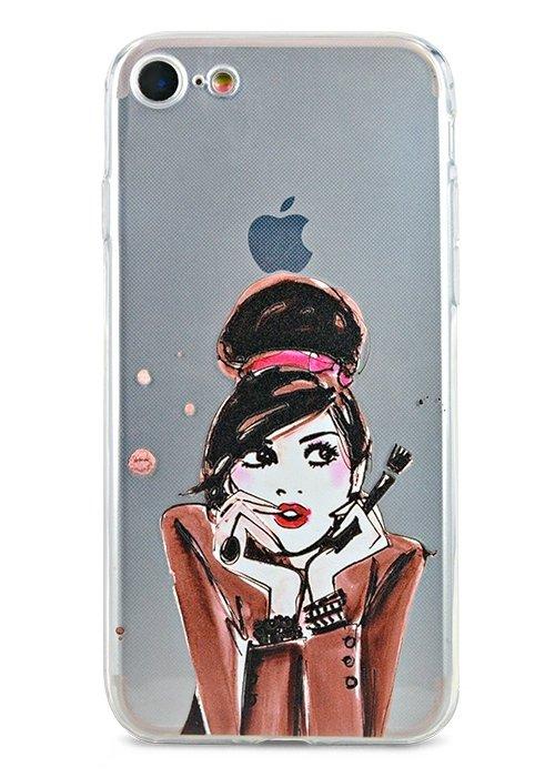 Чехол для iPhone 7/8 Summer mood силикон (Visagiste)
