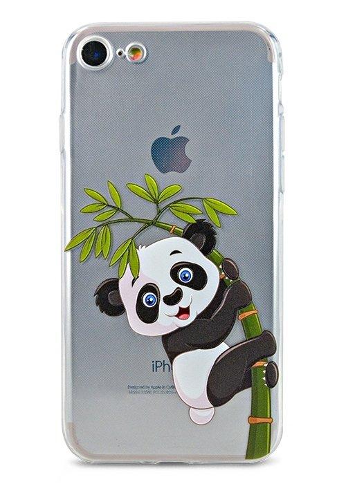 Чехол для iPhone 7/8 Summer mood силикон (Панда)