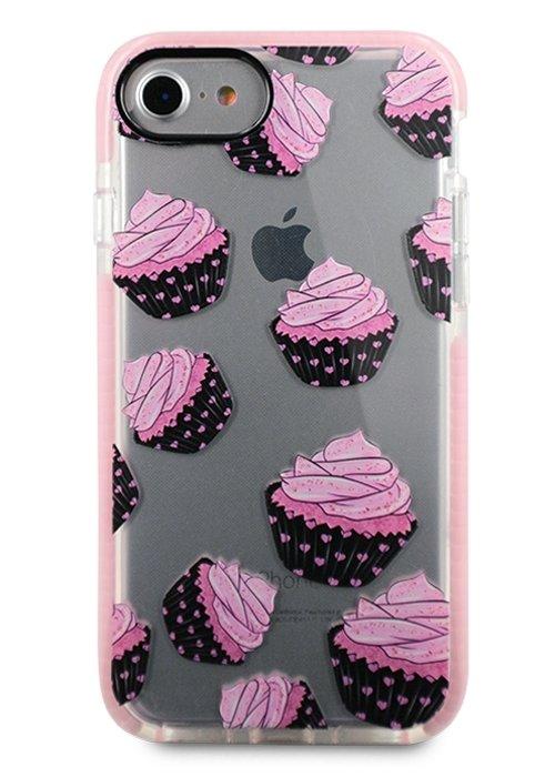 Чехол для iPhone 7/8 Sweet силикон (Мафины)