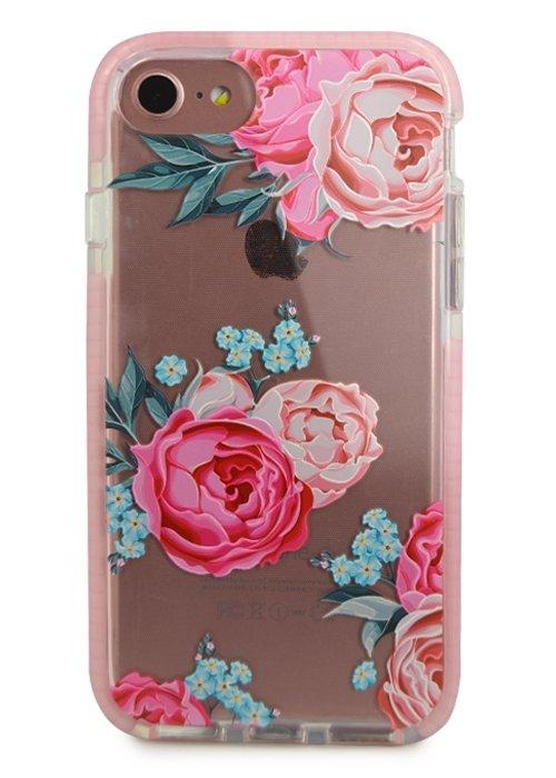 Чехол для iPhone 7/8 Sweet силикон (Пионы)