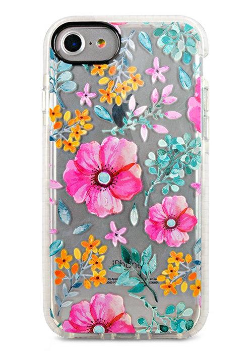 Чехол для iPhone 7/8 Sweet силикон (Полевые цветы)