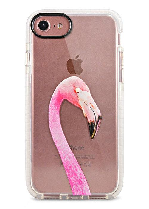 Чехол для iPhone 7/8 Sweet силикон (Фламинго)