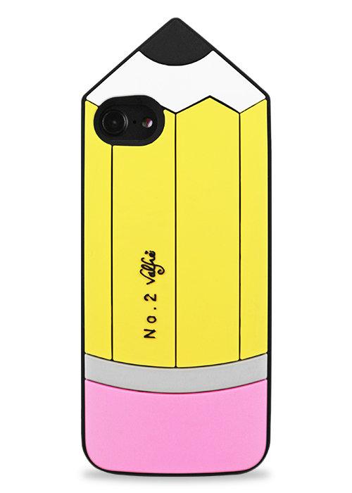 Чехол для iPhone 7/8 Карандаш (Желтый)