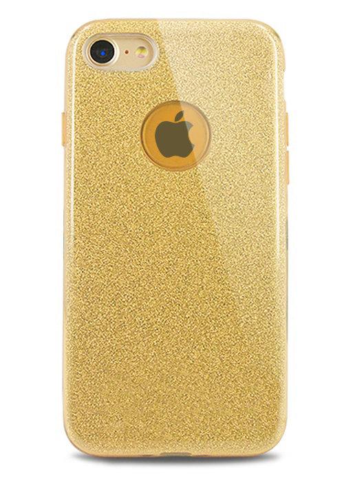 Чехол для iPhone 8 Sheer New силикон (Золото)