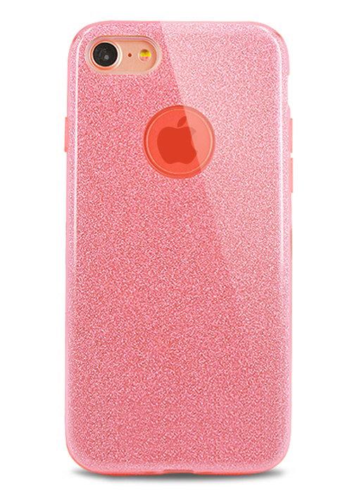 Чехол для iPhone 8 Sheer New силикон (Розовый)