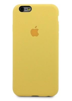 Чехол для iPhone 6/6S Apple Silicone Case 360 (Желтый)