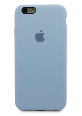 Чехол для iPhone 6/6S Apple Silicone Case 360 (Голубой)