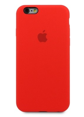 Чехол для iPhone 6/6S Apple Silicone Case 360 (Красный)