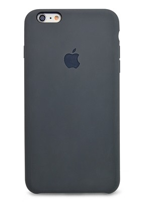 Чехол для iPhone 6/6S Apple Silicone Case Lux (Charcoal Gray)