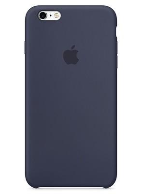 Чехол для iPhone 6/6S Apple Silicone Case Lux (Midnight Blue)