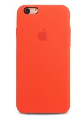Чехол для iPhone 6/6S Apple Silicone Case Lux (Orange)