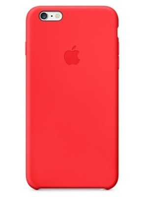 Чехол для iPhone 6/6S Apple Silicone Case Lux (Red)