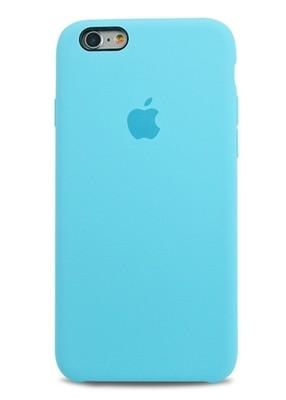 Чехол для iPhone 6/6S Apple Silicone Case Lux (Turquoise)