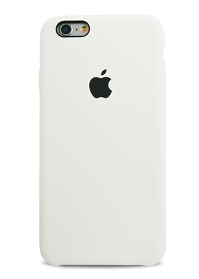 Чехол для iPhone 6/6S Apple Silicone Case Premium (Белый)