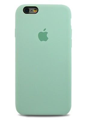 Чехол для iPhone 6/6S Apple Silicone Case Premium (Бирюзовый)