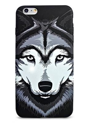 Чехол для iPhone 6+/6S+ Animals (Хаски)