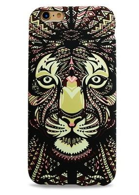 Чехол для iPhone 6+/6S+ Art Animals (Лев)