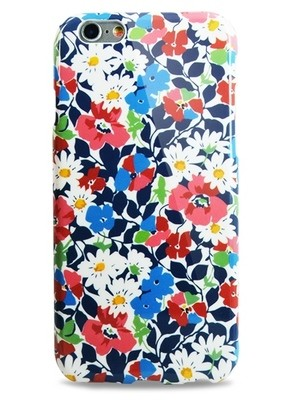 Чехол для iPhone 6+/6S+ Aru Flowers (Маки и ромашки)