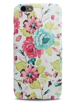 Чехол для iPhone 6+/6S+ Aru Flowers (Цветные пионы)