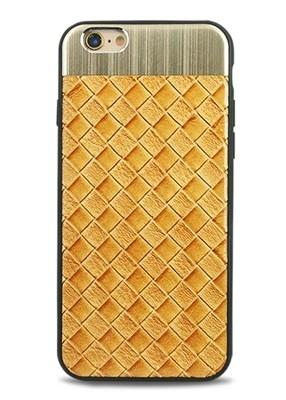 Чехол для iPhone 6+/6S+ Celtic (Клетка (бежевый))
