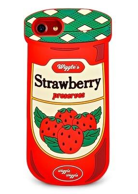 Чехол для iPhone 6/7/8 Strawberry (Красный)