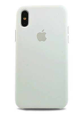 Чехол для iPhone XS Max Apple Silicone Case Lux (White)