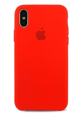 Чехол для iPhone XS Max Apple Silicone Case Lux (Red)