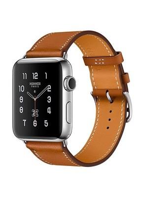 Ремешок для Apple Watch 38mm Smooth Skin (Коричневый)