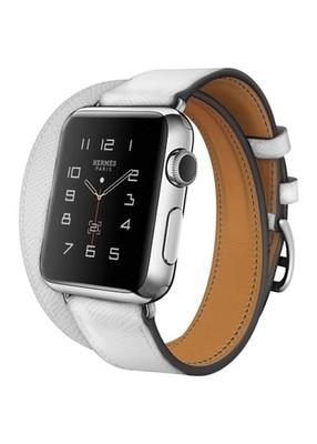 Ремешок для Apple Watch 38mm Smooth Skin (Белый)