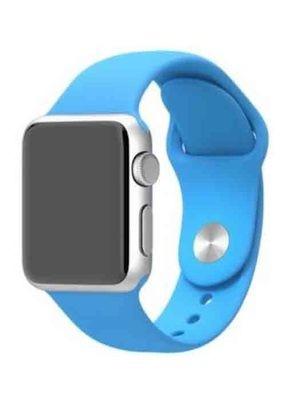 Ремешок для Apple Watch 38mm Sport Premium (Голубой S)