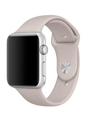 Ремешок для Apple Watch 38mm Sport Premium (Каменный серый L)