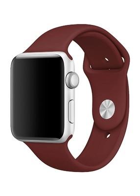 Ремешок для Apple Watch 38mm Sport Premium (Кирпичный S)