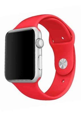 Ремешок для Apple Watch 38mm Sport Premium (Красный L)