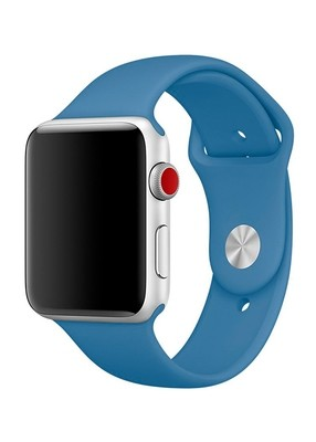 Ремешок для Apple Watch 38mm Sport Premium (Лазурный S)