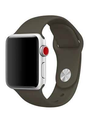 Ремешок для Apple Watch 38mm Sport Premium (Оливковый L)
