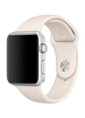 Ремешок для Apple Watch 38mm Sport Premium (Молочный L)