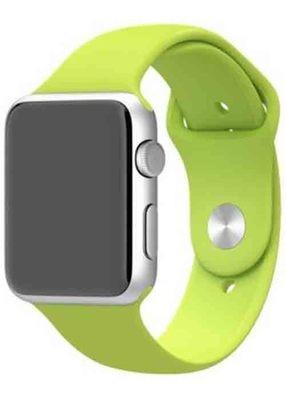 Ремешок для Apple Watch 38mm Sport Premium (Салатовый S)