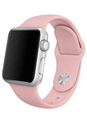 Ремешок для Apple Watch 38mm Sport Premium (Светло-розовый S)