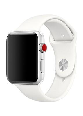 Ремешок для Apple Watch 38mm Sport Premium (Светло-серый L)