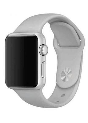Ремешок для Apple Watch 38mm Sport Premium (Серый S)