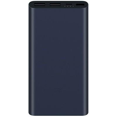Внешний аккумулятор Xiaomi Mi Power Bank 2i 10000 mAh (черный)