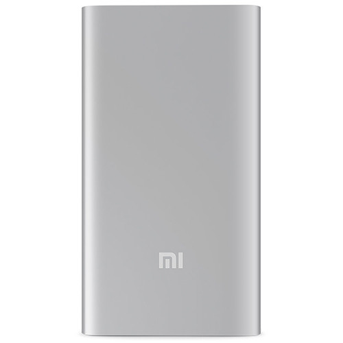 Внешний аккумулятор Xiaomi Mi Power Bank 5000 mAh (серебристый)