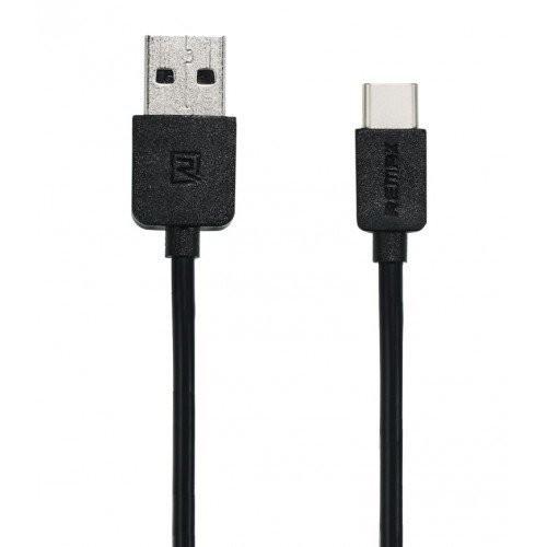 Кабель USB – Type-C Remax Light RC-006a 1.0m круглый 2.1А (черный)