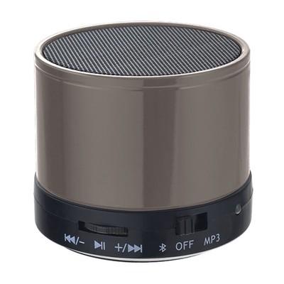 Bluetooth-колонка Perfeo «CAN» FM, MP3 microSD, AUX, мощность 3Вт, 500mAh (серебро)