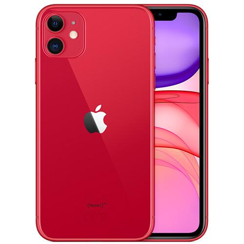 Смартфон Apple iPhone 11 128GB RUS ((PRODUCT)RED™)