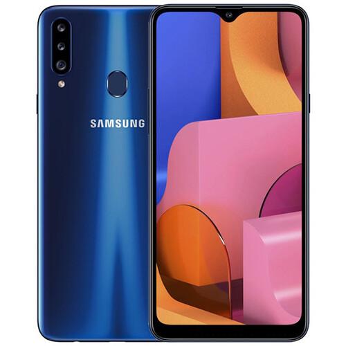 Смартфон Samsung Galaxy A20s 32GB RUS (синий)
